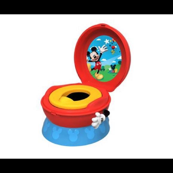 Mickey disney toilet potty interactive trainer